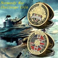 D-Day 1944 Normandy 75th Anniversary Battle Normandy Souvenir Challenge Coin