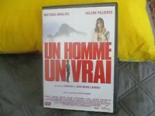"RARE! DVD ""UN HOMME, UN VRAI"" Mathieu AMALRIC, Helene FILLIERES"