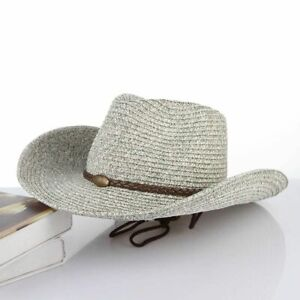 Unisex Fibonacci Cowboy Hat Fashion Summer Panama Folding Beach Wide Brim Cap