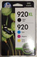 HP 920XL Black & Color Cartridges
