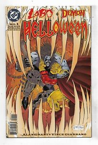 Lobo Demon Helloween #1 Very Fine/Near Mint