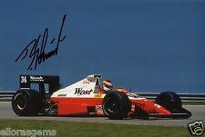 "F1 Driver Formula One Bernd Schneider Hand Signed Photo Autograph 12x8"" AD"