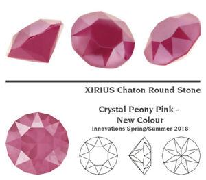 Genuine SWAROVSKI 1088 XIRIUS Chaton Round Foiled Crystals * More Colors