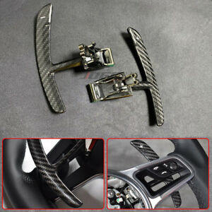 Carbon Paddle Shifter Extension For Porsche 991 911 718 Panamera Macan Cayenne