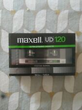 MAXELL UD 120 TYPE I NORMAL POSITION CASSETTE AUDIO TAPE SEALED MADE IN JAPAN