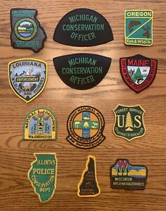 Assorted Conservation Officer Fish & Game Patches