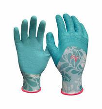 Digz  Blue  Women's  M  Latex  Gardening Gloves