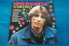 "LP NINO D'ANGELO "" 'A DISCOTECA "" RARO DISCHI RICORDI S.P.A."