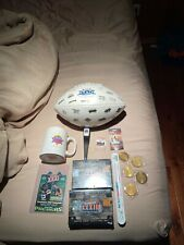 Super Bowl Memorabilia Lot-Football, SB 54 Pin, SB 29 Mug, Etc