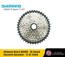SHIMANO DEORE CS-HG500 10-Speed MTB Cassette Sprocket - 11-42T