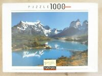 NATHAN PUZZLE Collection Nature 1000 PIECE JIGSAW - Reflections on a Lake