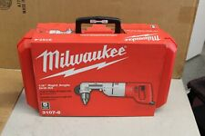 """Milwaukee 3107-6 1/2"""" D-Handle Right Angle Drill Kit - New"""