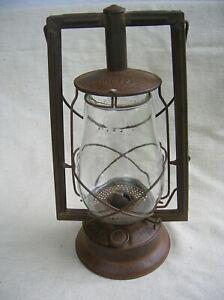 Dietz Victor square frame lantern 1920s vintage