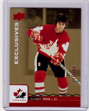 BOBBY ORR 17/18 Upper Deck Team Canada #/199 RED Exclusives #86 Retired Legends