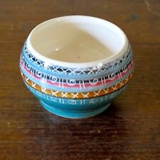 Jo Lester 1970s Small Pottery Herb Planter, Isle of Wight Pottery