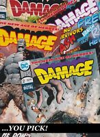 CLEARANCE: DAMAGE #2 #5 #6 or #7 DC comics NM 2018 YOU PICK