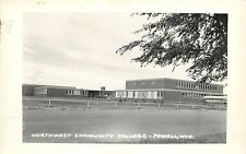 RPPC Postcard;Northwest Community College, Powell WY Park County Unposted