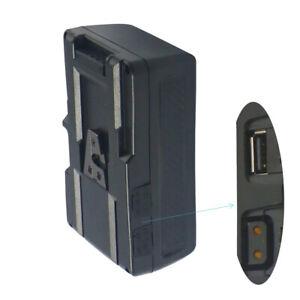 130Wh (8400mAh/14.8V) V Mount Battery Pack V Lock for video Camera TOP with usb