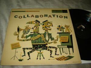 Jim Flora cover art LP Collaboration by Shorty Rogers and Andre Previn LJM-1018