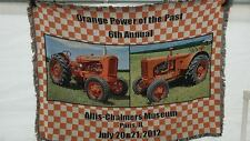 ALLIS CHALMERS VINTAGE WF  2012  TAPESTRY 6' X 6' 1 OF 25 VERY RARE!  NEW