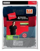 4-Pack Hanes Men's TAGLESS ComfortSoft Dyed Crewneck T-Shirt Assorted S - 2XL