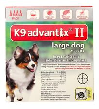 K9 Advantix II for Large Dogs [21-55 lbs] (4 count)
