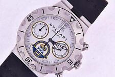 Bulgari Diagono Scuba FIFA Limited Edition Mens Automatic Watch SC38 Chronograph