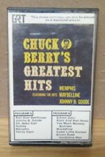 CHUCK BERRY'S GREATEST HITS PAPER LABEL CASSETTE TAPE RARE CHESS GRT 5033-1485