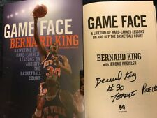 SIGNED IN PERSON BERNARD KING*GAME FACE A LIFETIME OF HARD-EARNED LESSONS* HCDJ