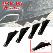Car Triangular Rear Bumper Lip Spoiler Diffuser Shark Anti-collision Deflector