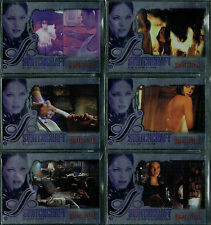 SMALLVILLE SEASON 4 COMPLETE SET OF 6 SWITCHCRAFT CARDS SW1-SW6