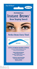 Fran Wilson INSTANT BROWS SHAPING STENCIL 6-SETS (ARCHED)