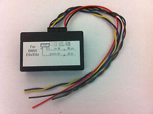 BMW CIC retrofit adapter emulator,video in motion