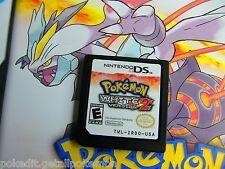 Authentic UNLOCKED White 2 All 649 Legal Pokemon Nintendo DS DSi 3DS PokEdit