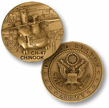 NEW U.S. Army CH-47 Chinook Challenge Coin. 48700.