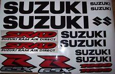 Set of SUZUKI GSXR / SRAD  1000 - Sticker / Decal Kit