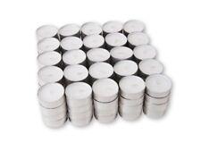White Unscented Tea Light Candles  RESTAURANT TEA LIGHTS 5 ,22, 25, 50 ,100, 200