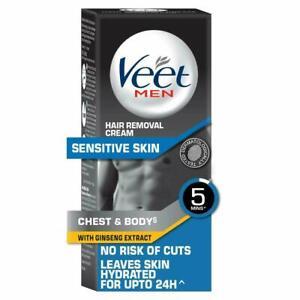 Veet Hair Removal Cream for Men, Sensitive Skin - 100 gm