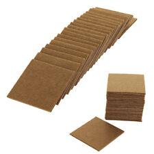 20pc Furniture Protectors Felt Pads Chair Leg Protection Oak Wood Laminate Floor