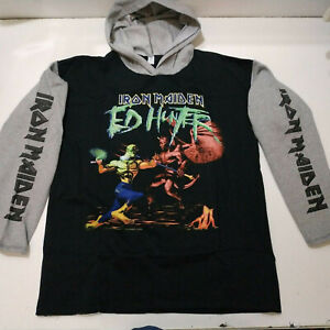 Vintage   IRON MAIDEN    Unused  90s HOODIE   shirt