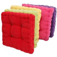 Warm Corduroy Cushion Chair Pads Round Office Sofa Floor Cushion Mats Decor US