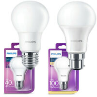 Philips LED GLS B22 or E27 Bulk pack of Light Bulbs 5.5w / 8w / 11w / 13w - 240v