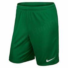 Nike Park II Knit Short NB Pantaloncini Uomo Verde/bianco M (s1d)