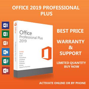 Office✔2019 2019 Professional Plus Chiave di licenza, 1PC, Lifetime & Updates 💯