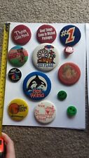 New listing Lot of souvenir pins and buttons - 16 total