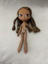 Girlz Girlz Bratz Kidz Horseback Fun 7� Yasmin Doll Brown Breaded Hair