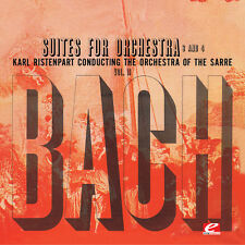 Bach / Ristenpart - Suite for Orchestra No 3 in D Major [New CD] Suite for Orche