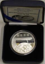 Finland 2002 10 euro Olympics Helsinki Silver PROOF / Finlandia Finlande Silber