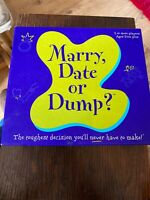 Marry Date Or Dump Board  Game