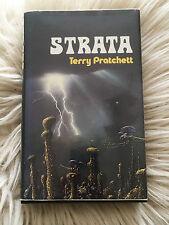 Terry Pratchett STRATA US 1st Edition 1981 pre Discworld (Not Book Club)
